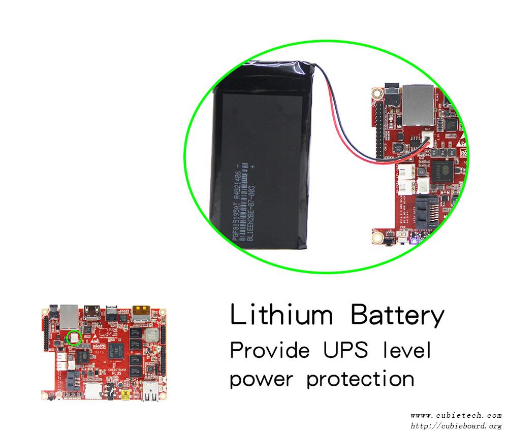 cubieboard5 battery